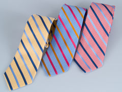 Bruno Piatelli Candy Stripe Silk Tie