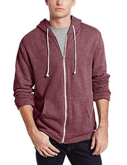 Threads 4 Thought Triblend Zip Front Hoodie Wild Ginger