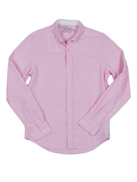 JACHS NY Oxford Button Down Shirt Pink