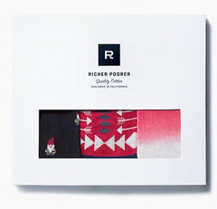 Richer Poorer Boxed Gift Set Buddy (3 pairs)