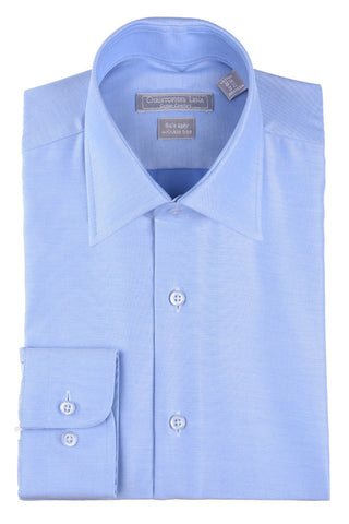 Christopher Lena Regular Fit Wrinkle Free Dress Shirt Powder Blue
