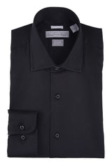 Christopher Lena Slim Fit Wrinkle Free Dress Shirt Black