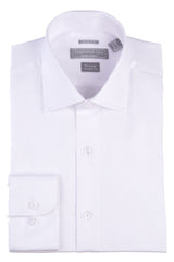 Christopher Lena Slim Fit Wrinkle Free Dress Shirt White