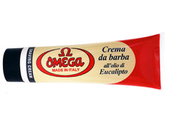 Omega Eucalyptus Shaving Cream Tube 100ml/3.5oz