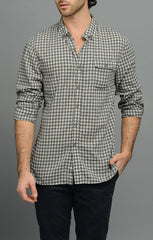 JACHS NY Gingham Check Shirt