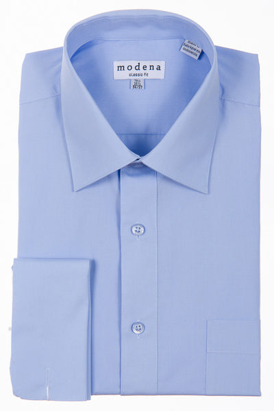 Modena French Cuff Dress Shirt Powder Blue