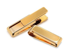M-Clip New Yorker Gold Channeled Money Clip