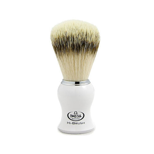 Omega Synthetic Bristle Shaving Brush