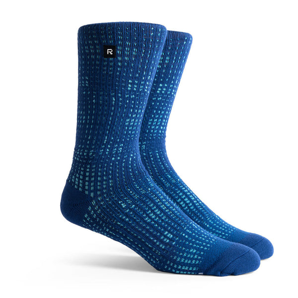 Richer Poorer Optic Dots Athletic Socks Indigo