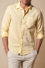 JACHS NY Poplin Shirt Lemon Yellow