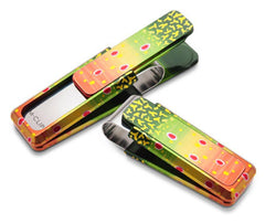 M-Clip Hand Painted Brook Trout Money Clip