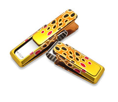M-Clip Hand Painted Brown Trout Money Clip