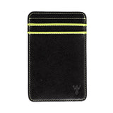 Wurkin Stiffs Slim RFID Blocking ID Wallet Black Green