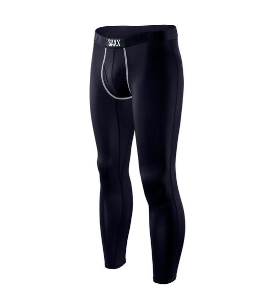 Saxx Ultra Long John with Fly Black