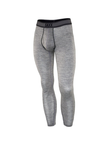 Saxx Black Sheep Long John with Fly Charcoal Heather