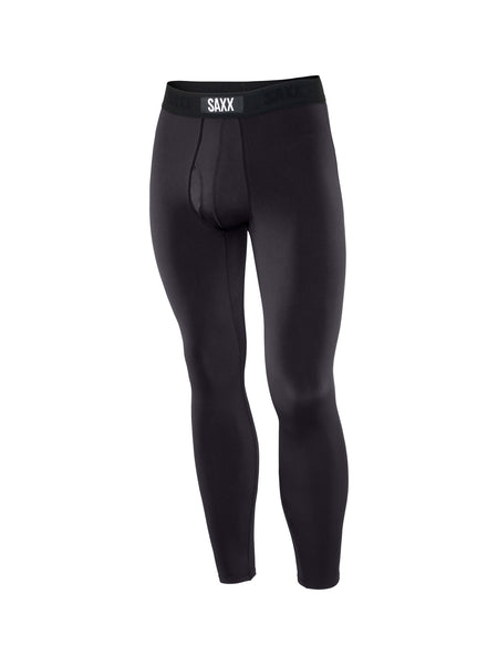 Saxx Sub Zero Long John with Fly Black