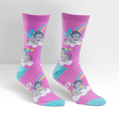 Sock It To Me A Purrfect World Socks