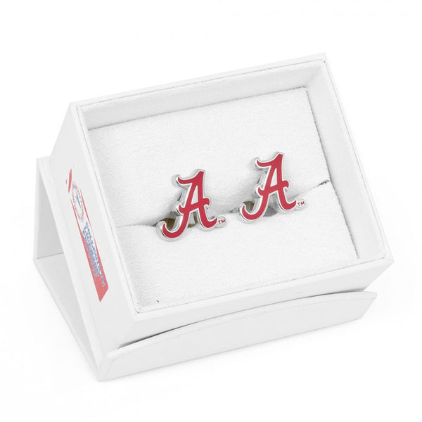 Alabama Crimson Tide Palladium Officially Licensed Cufflinks with Gift Box