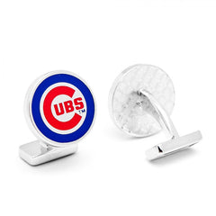 Chicago Cubs Palladium Officially Licensed Cufflinks with Gift Box