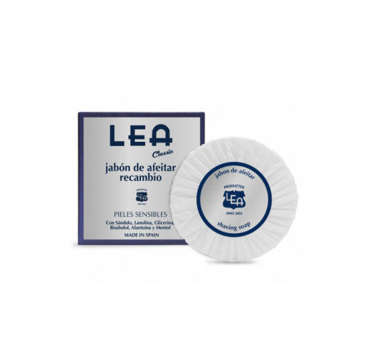 Lea Sensitive Skin Shaving Soap Refill 100g/3.5 oz.