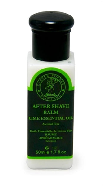 Castle Forbes Lime Essential Oil Aftershave Balm Travel Size 50ml/1.7oz