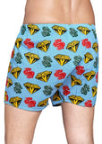 Happy Socks Limited Edition Billionaire Boys Club Collaboration Boxers Diamonds and Dollars