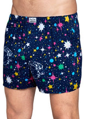 Happy Socks Limited Edition Billionaire Boys Club Collaboration Boxers Space