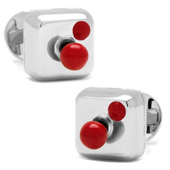 Ox and Bull Movable Joystick Cufflinks with Gift Box