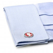 San Francisco 49ers Officially Licensed Cufflinks Money Clip Gift Set