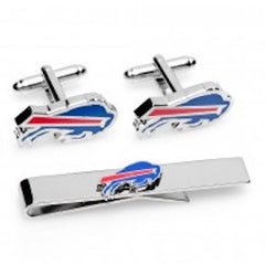 Buffalo Bills Officially Licensed Cufflinks Tie Bar Gift Set