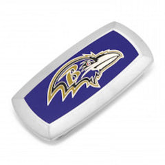 Baltimore Ravens Officially Licensed Cushion Money Clip with Gift Box
