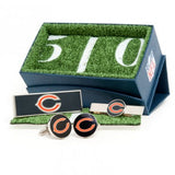 Chicago Bears Officially Licensed Cufflinks Money Clip Tie Bar Gift Set