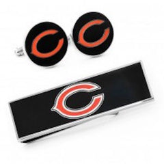 Chicago Bears Officially Licensed Cufflinks Money Clip Set