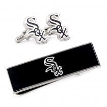 Chicago White Sox Officially Licensed Cufflinks Money Clip Gift Set