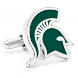 Michigan State Spartans Officially Licensed Cufflinks Money Clip Gift Set