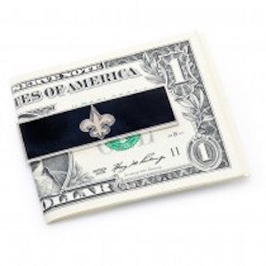 New Orleans Saints Officially Licensed Cufflinks Money Clip Gift Set