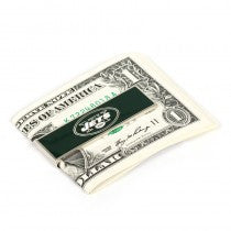 New York Jets Officially Licensed Cufflinks Money Clip Gift Set