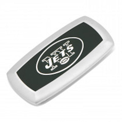 New York Jets Officially Licensed Cushion Money Clip with Gift Box.  Cufflinks Inc a84b269c3