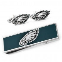 Philadelphia Eagles Officially Licensed Cufflinks Money Clip Gift Set