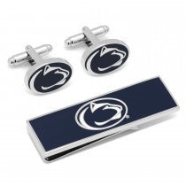 Penn State Nittany Lions Officially Licensed Cufflinks Money Clip Gift Set