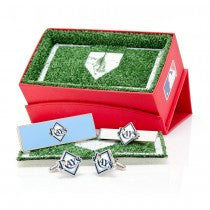 Tampa Bay Rays Officially Licensed Cufflinks Money Clip Tie Bar Gift Set