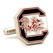 South Carolina Gamecocks Officially Licensed Cufflinks Money Clip Gift Set