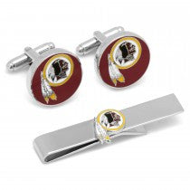 Washington Redskins Officially Licensed Cufflinks Tie Bar Gift Set