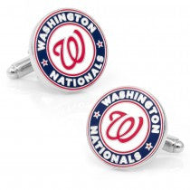 Washington Nationals Officially Licensed Cufflinks Money Clip Gift Set