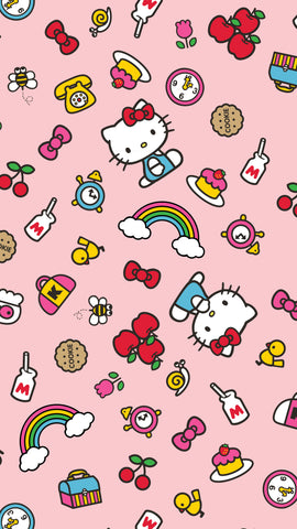 bb473b851 How excited are you for our Hello Kitty x FP collection launch this week???  To celebrate, we've designed this FREE phone backgrounds for you to  download and ...