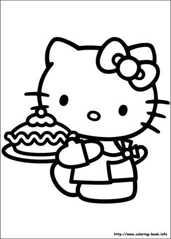 Does Your Little One LOVE Hello Kitty Then We Have Something In Common Print Out The Free Coloring Book Pages Below To Keep Them Entertained With