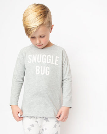 Snuggle Bug Long Sleeve Graphic Tee