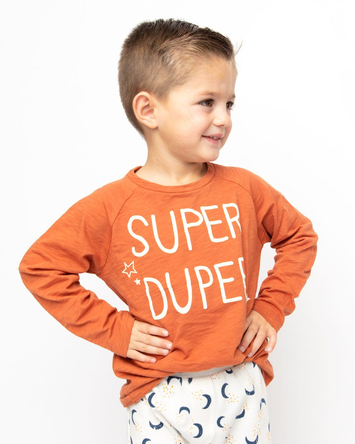 Super Duper Long Sleeve Graphic Tee Kids - Long Sleeve Graphic Tee Kids Clothing