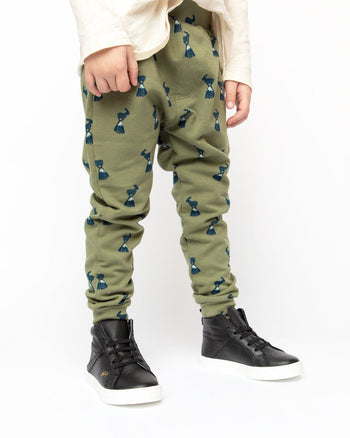Olive Billy Goat Jogger Kids - Jogger Kids Clothing