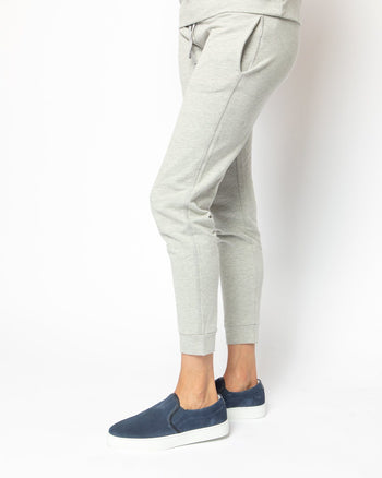 Heather Grey Jogger Women's - Jogger Women's Clothing
